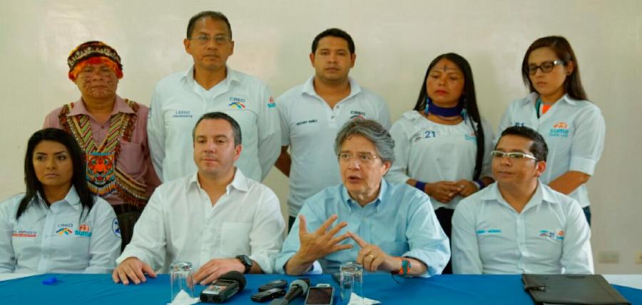 Pastaza escuchó la propuesta de 1 Millón de Empleo de Guillermo Lasso