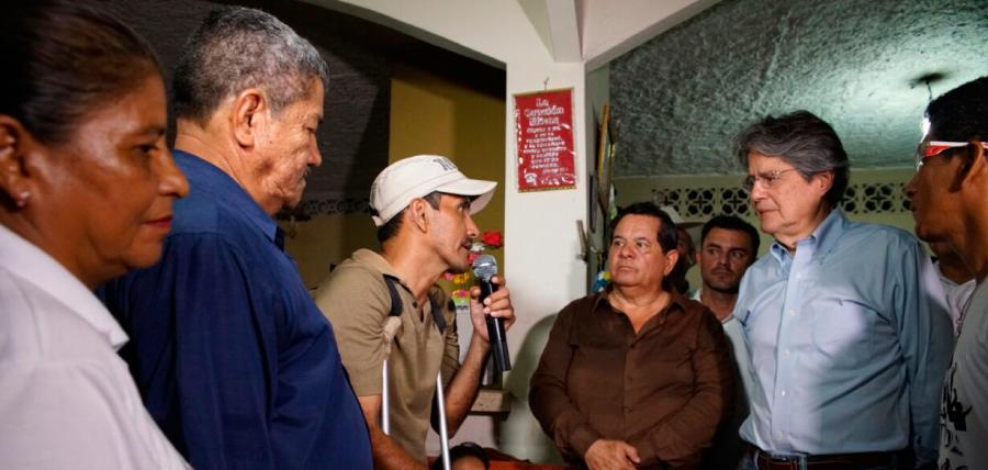 Guillermo Lasso mantuvo encuentro con la estructura de Familias por el Cambio