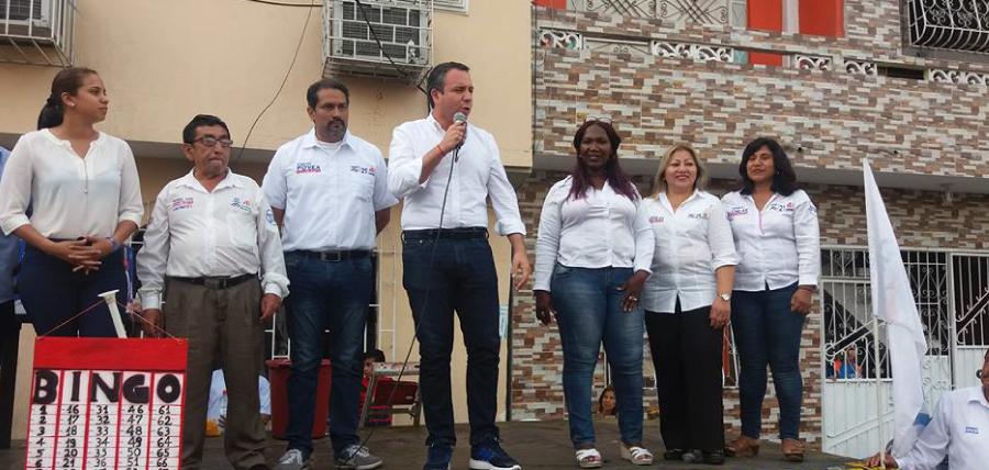 Candidatos  del distrito 1 realizan actividades previas al inicio de campaña
