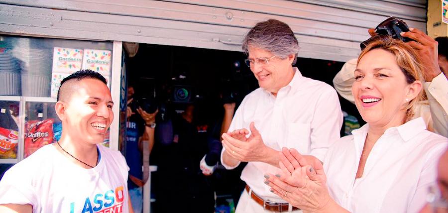 Lasso fortalece su campaña de la creación de 1 Millón de Empleos