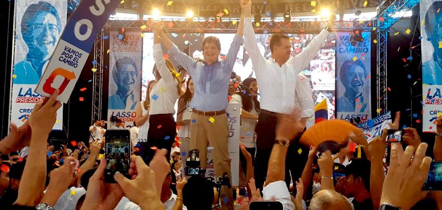En evento masivo Guillermo Lasso fortalece su campaña electoral por 1 Millón de Empleos
