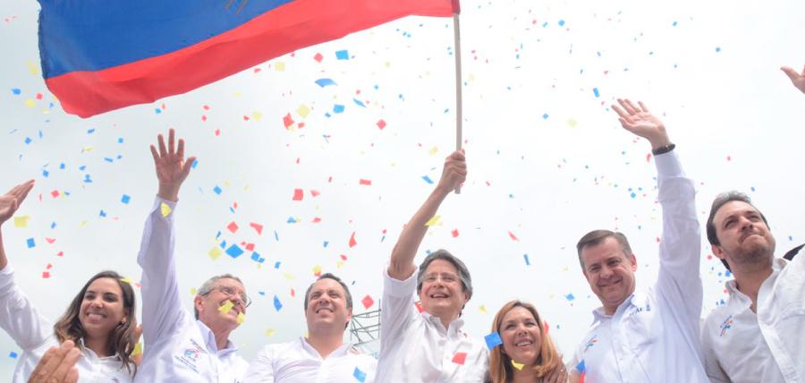 Con multitudinario evento en Guayaquil Lasso fortaleció su lucha por el Cambio