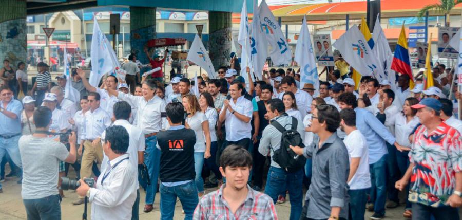 Lasso fortalece en Guayaquil su propuesta de 1 Millón de  Empleos