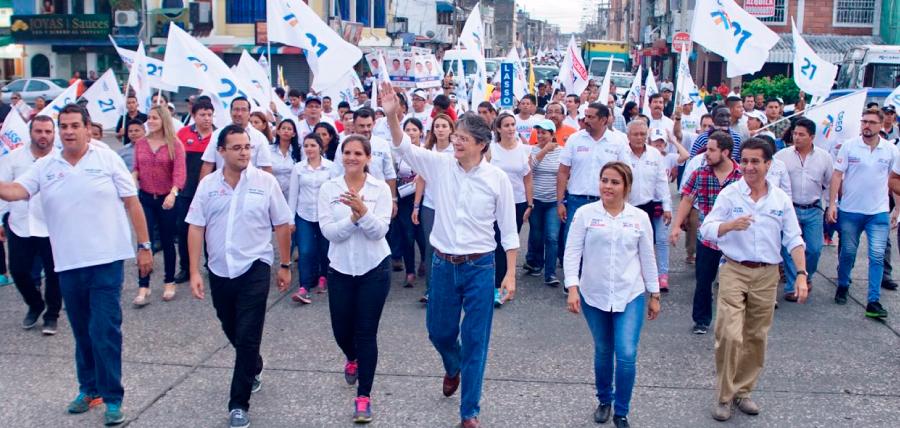 Lasso llevó sus propuestas de Cambio a la Zona Norte de Guayaquil