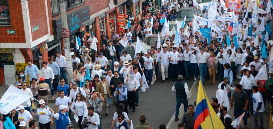 Lasso intensifica su campaña en el Sur de Quito
