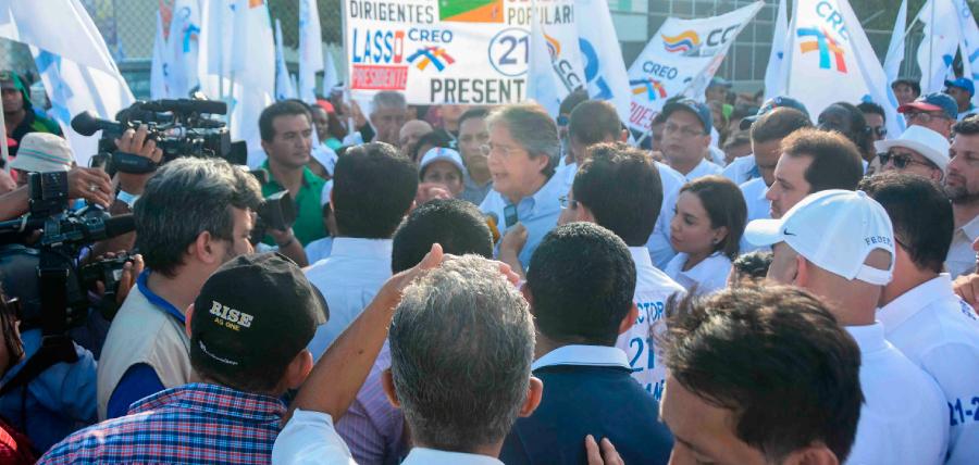 Lasso impulsó el plan 1 Millón de Empleos en el Norte de Guayaquil