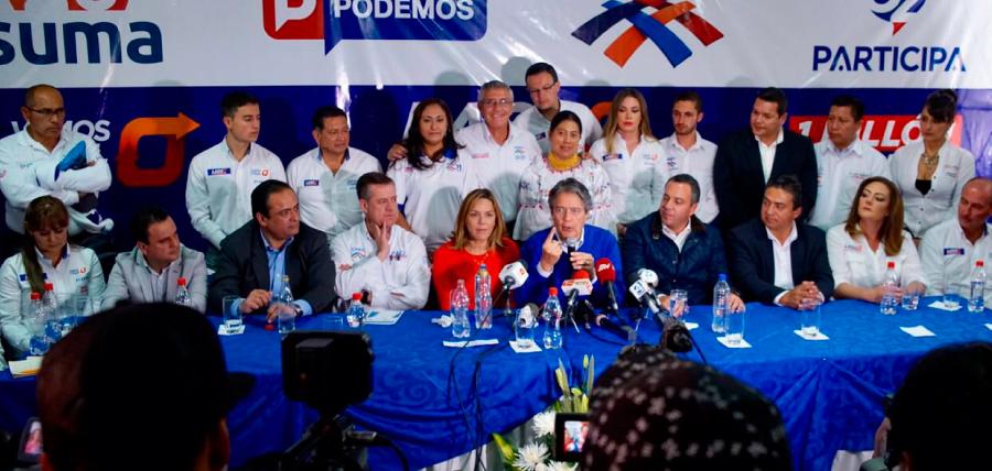 Lasso en Cuenca: Contamos con nuestro sistema de control electoral