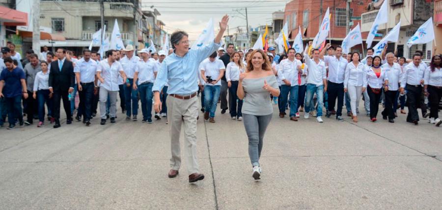 Gran acogida al plan 1 Millón de Empleos de Lasso en la parroquia Ximena