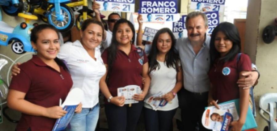 Candidatos de El Oro recorren la provincia anunciando el Cambio