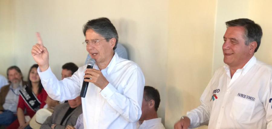 Lasso presenta su plan 1 millón de empleos al sector ganadero de la Sierra