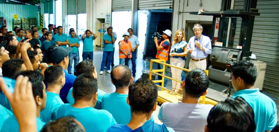 En Guayaquil Lasso impulsa 1 Millón de Empleos