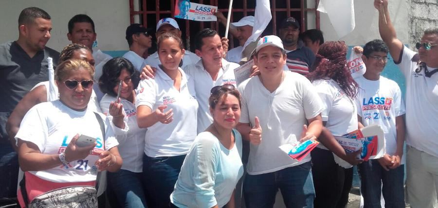 Candidatos del Guayas llevan mensaje del Cambio a sus Distritos sin descanso