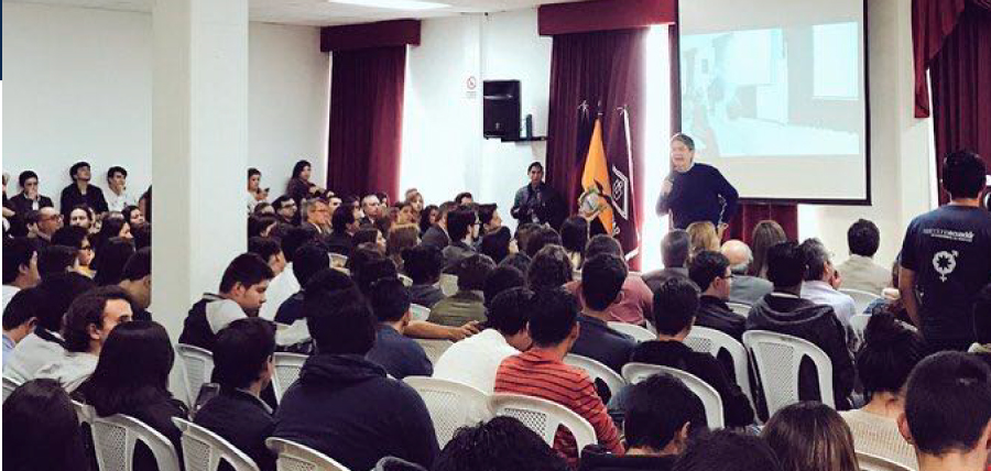 Lasso y su plan 1 Millón de Empleos recibieron el apoyo de universitarios