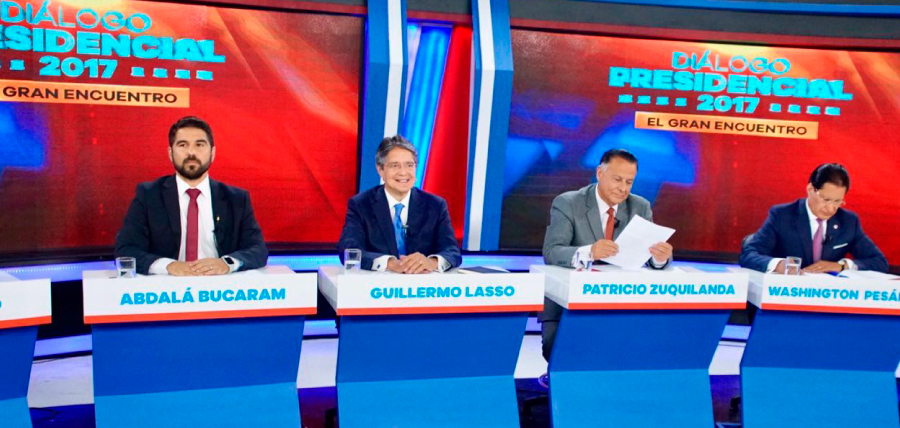 Lasso ratificó su propuesta de empleo y desarrollo en debate.