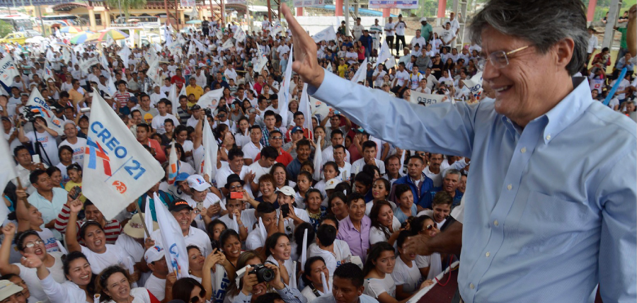 Zamora vivió una fiesta democrática con la visita de Lasso