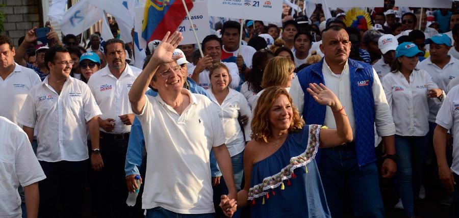 La Isla Trinitaria ya se decidió por Guillermo Lasso