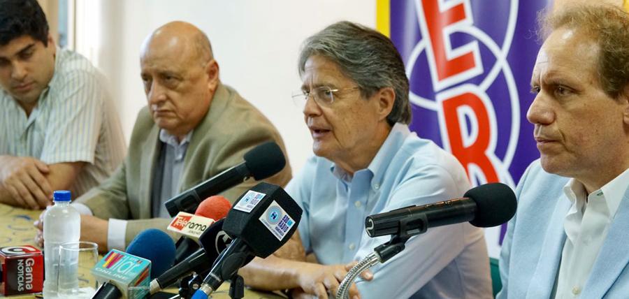 En conversatorio con AER Lasso afirmó que se cuidará el voto de los ecuatorianos