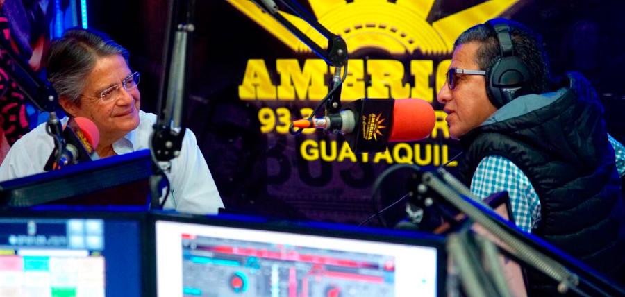 Lasso llama  a los ecuatorianos a defender la democracia en las urnas
