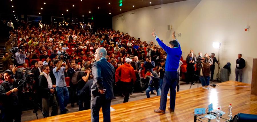 Estudiantes de la UDLA respaldan a Lasso y se unen al Cambio