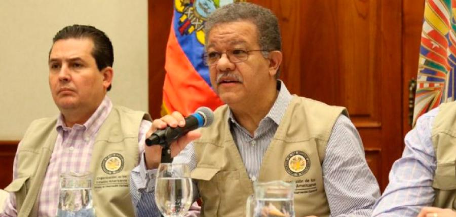 Presidente de CREO se reunirá con observadores de la OEA