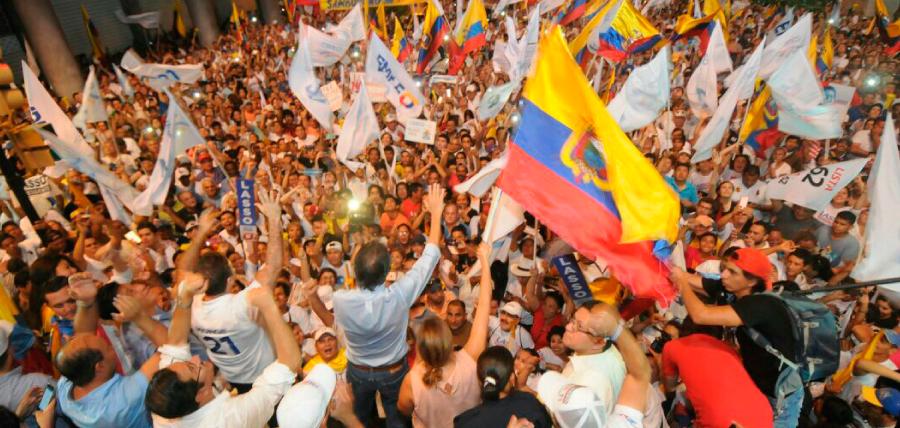 Lasso y miles de Guayaquileños pidieron el reconteo voto a voto
