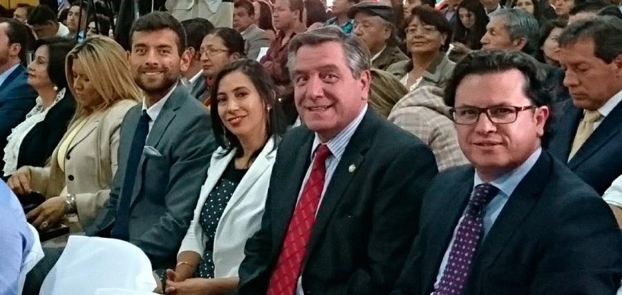 Los cinco asambleístas de CREO – SUMA en Pichincha recibieron credenciales