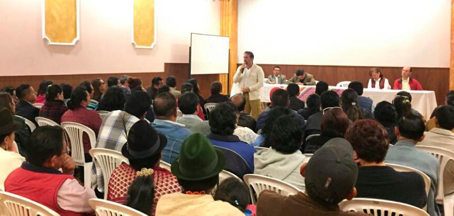 En Cotopaxi CREO continua aglutinando esfuerzos por el cambio