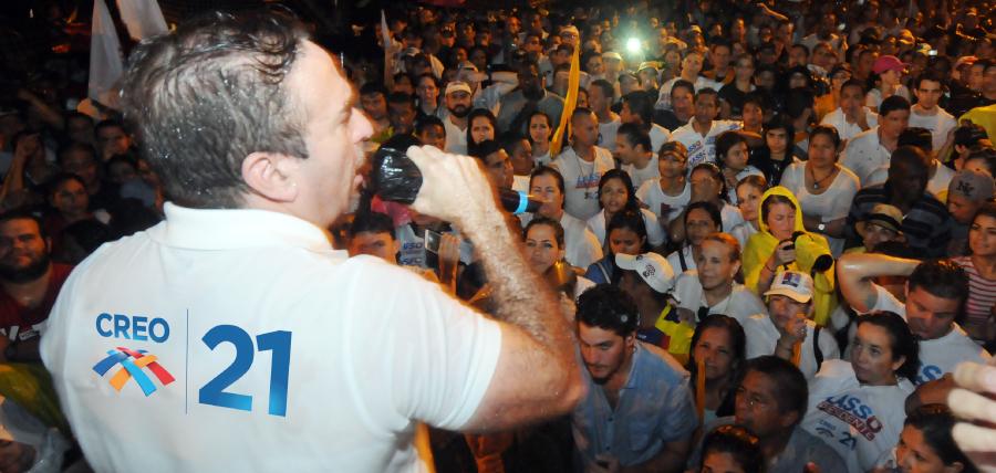 CREO llega hoy con su gestión de fortalecimiento territorial a Bolívar