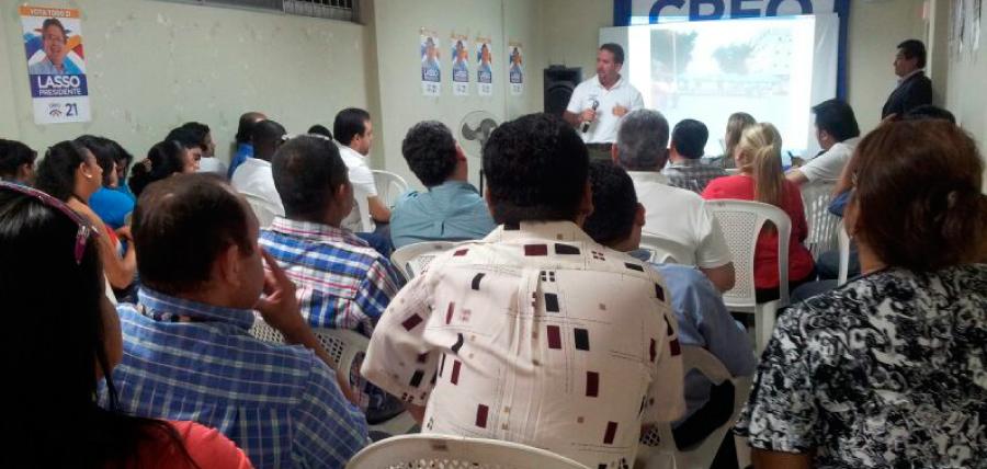 CREO prepara agenda territorial en Guayas para el fin de semana