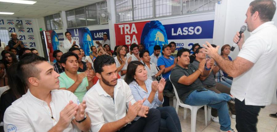 En Guayaquil CREO fortalece su frente de Jóvenes