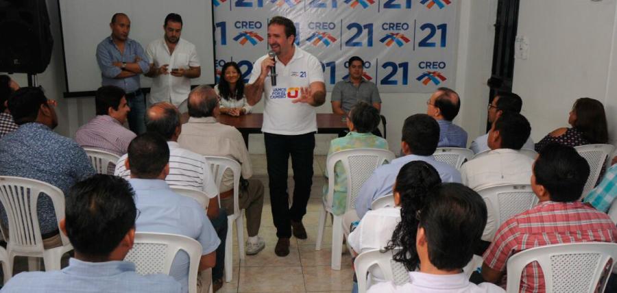 CREO fortalece su estructura cantonal en Guayas
