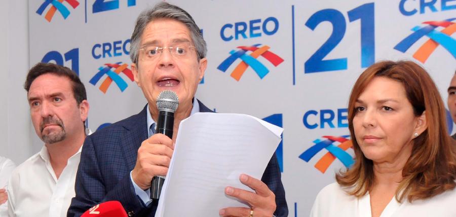 Lasso exige a Moreno implementar 10 reformas en beneficio de los ecuatorianos