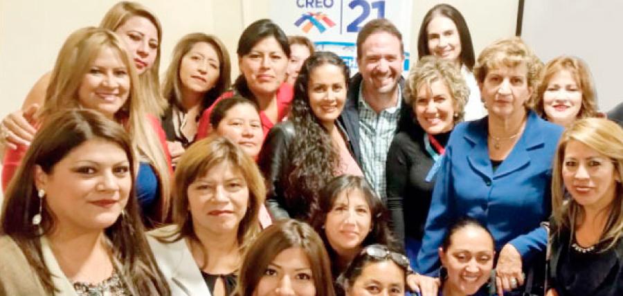 Frente de Mujeres en Quito se suma al fortalecimiento de CREO
