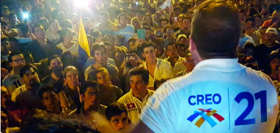Recorrido Nacional de CREO continúa su trabajo en Carchi