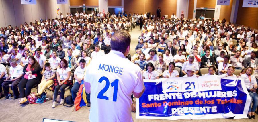 Gira Nacional de CREO continúa hoy en Santo Domingo