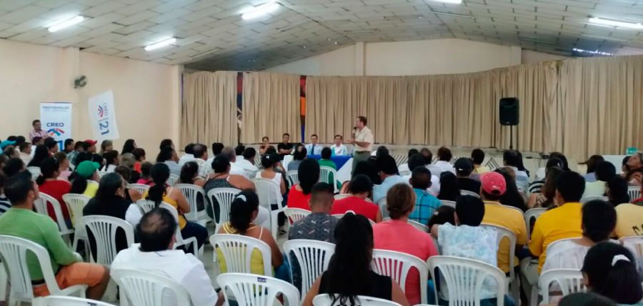 Santo Domingo se suma al fortalecimiento de CREO
