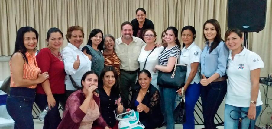 Mujeres CREO de Santo Domingo continúan su trabajo de fortalecimiento territorial