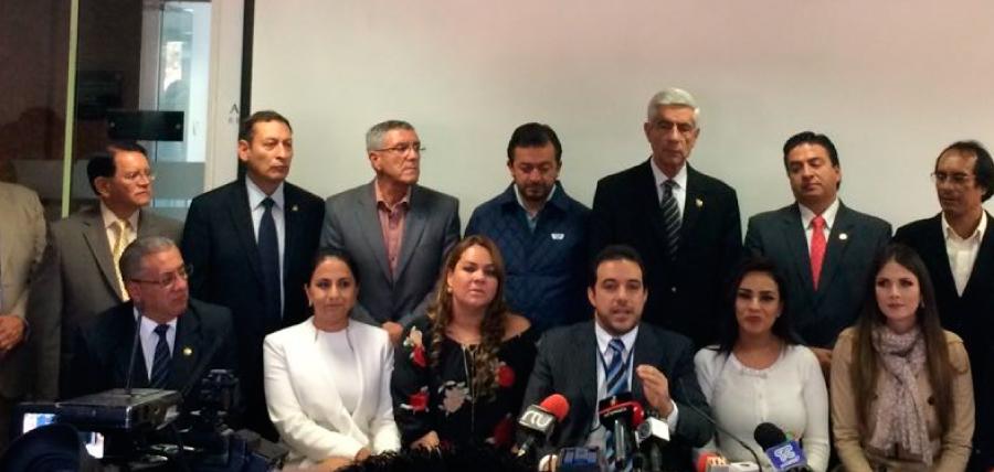 Representantes del Bloque de la Unidad por el Cambio exigen juicio político a Pólit y la comparecencia de Glas