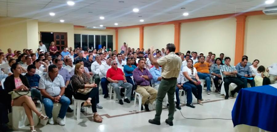 Manabí fortalece la lucha por el Cambio