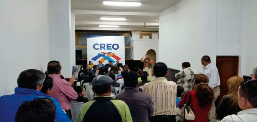El trabajo nacional de fortalecimiento nacional continúa en Tungurahua