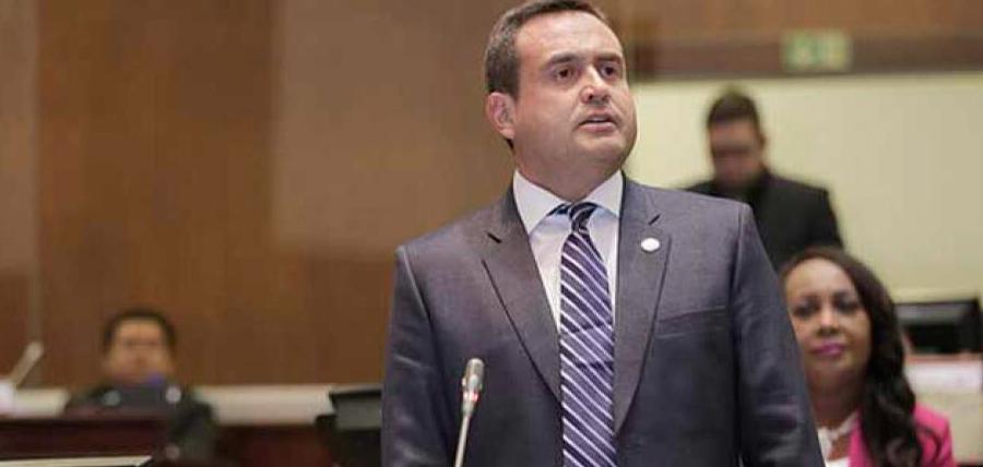 Castanier logra que el ex Fiscal Chiriboga de la cara a la Asamblea