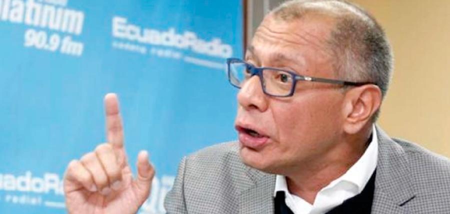 Glas acepta comparecer en comisión legislativa de mayoría correísta, pero no da la cara a la Comisión de Participación Ciudadana