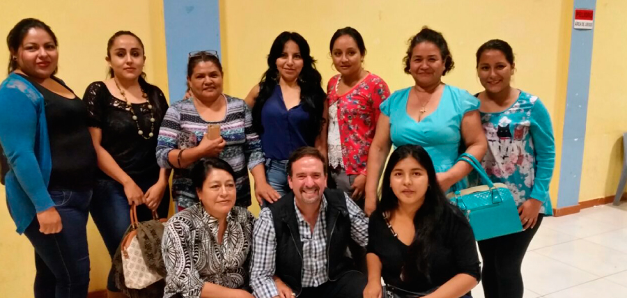 Dirigencia de Mujeres CREO en Zamora Chinchipe planifican su trabajo territorial