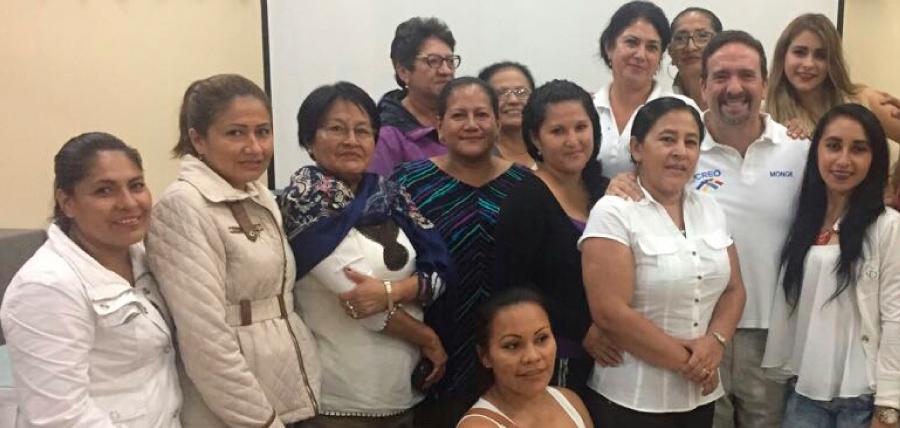 Mujeres de Pastaza continúan trabajo de fortalecimiento
