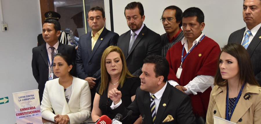 Asambleísta Bernal presentó proyecto para enmendar artículos para combatir la corrupción