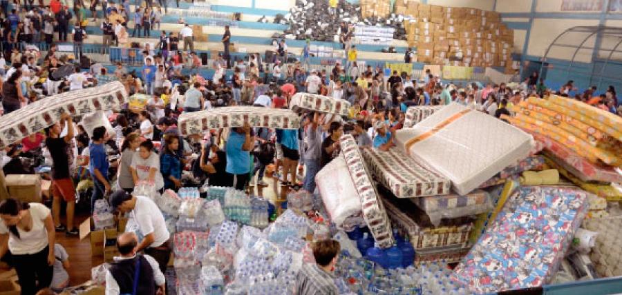 Aportes ciudadanos para damnificados del terremoto fueron usados en otros rubros
