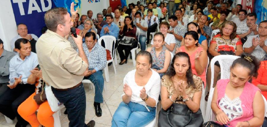 Frente de Profesionales de Guayas fortalecen el trabajo territorial