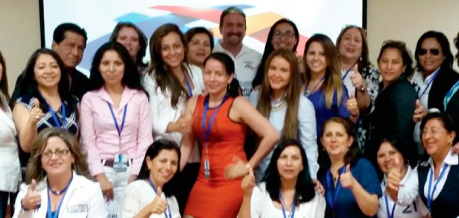 Se cierra la semana de trabajo territorial con el frente de mujeres CREO Guayas