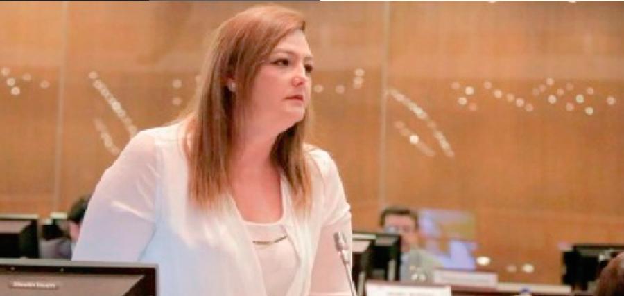 """Lourdes Cuesta: """"El único que desestabiliza al Gobierno es Jorge Glas"""""""