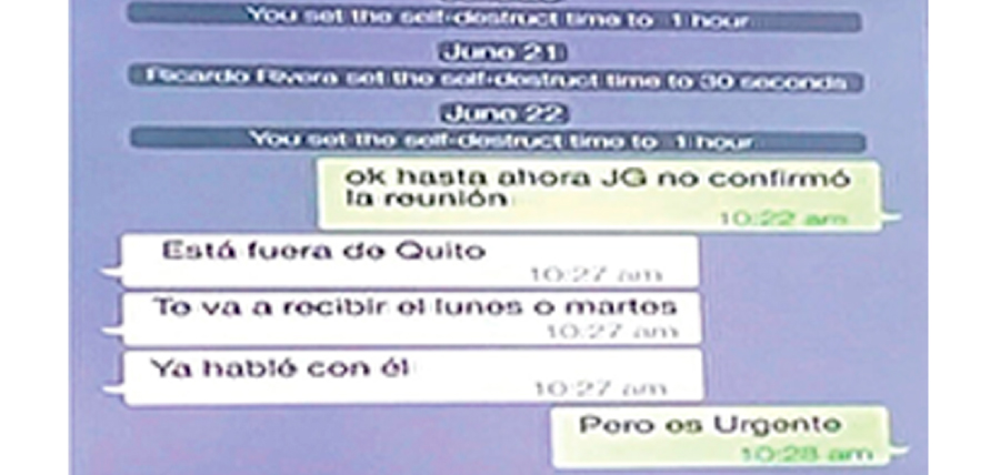 Confirmado: el Tío Ricardo Rivera era el contacto entre Odebretch y JG